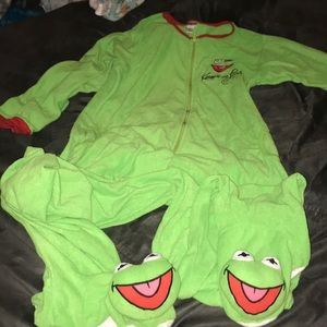 Kermit the Frog Footie Pajamas